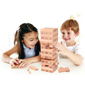 Traditional Education Gift Woonden Blocks without Paint Toys Building Blocks