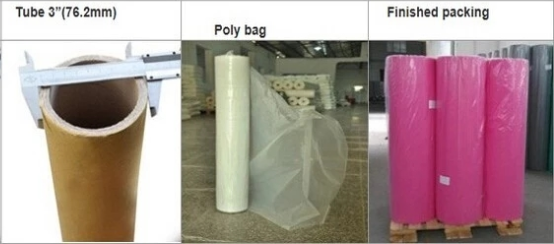 China manufacture of colorful PP spunbond nonwoven fabrics