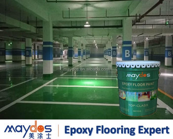 Cement Concrete Car Packing Lot Epoxy Resin Flooring Coating Paint