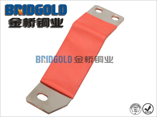 Insulated laminated copper busbar