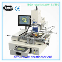 BGA rework station with split-vision alignment auto pick and place for all kinds of motherboard