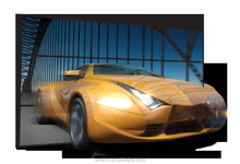 Hot selling in Saudi Arabia Glasses-free 3D advertising TV 48 inch Watch 3D Film by naked eyes