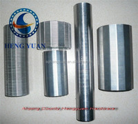 stainless steel wedge wire screen/filter for water tube/rod base well screen (factory)