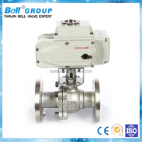 Electric SS a216 wcb ball valve