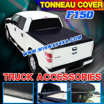 2004+ F-150 LOCK&ROLL UP SOFT TONNEAU COVER