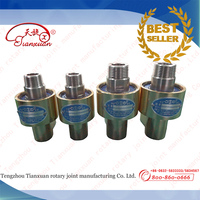 water,air,salt water,hydraulic oil rotary unions with copper material