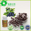 herbal supplement plant extract acai berry capsule