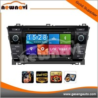 7 inch car touch screen LCD DVD player special for TOYOTA