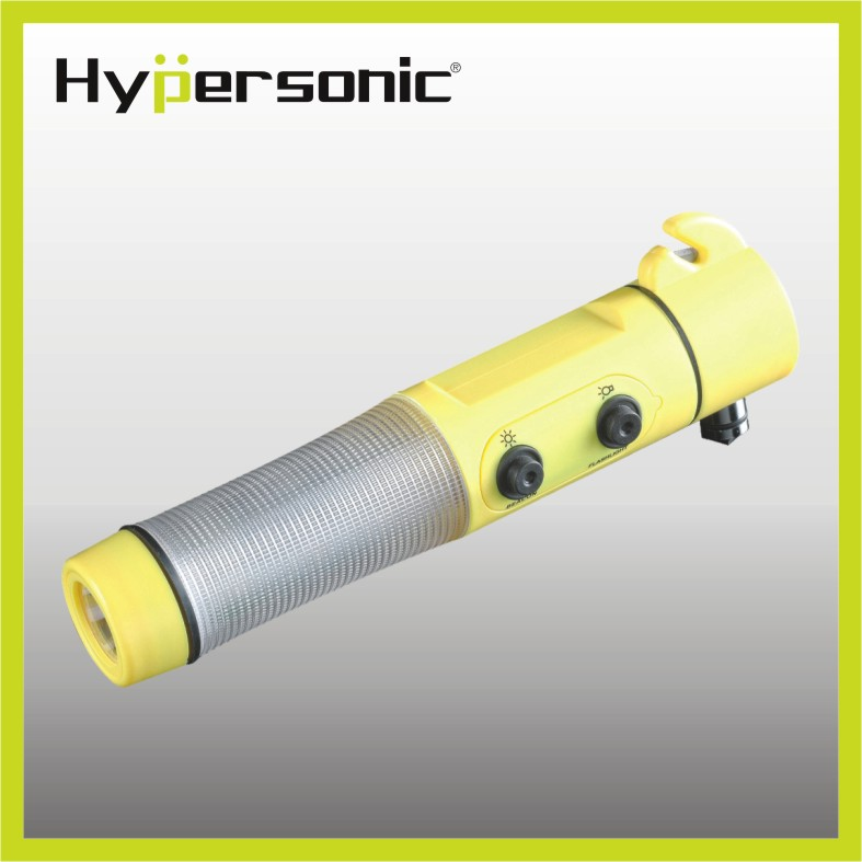Hypersonic multi-function car safety emergency life hammer