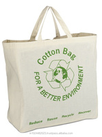 Eco friendly Cotton Canvas Carrier Bag