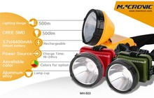 Fast Charge time ABS Material 500LM Remote Searchlight Led