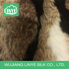 soft imitation animal fur fabric / warm coat fabric / faux fur fabric