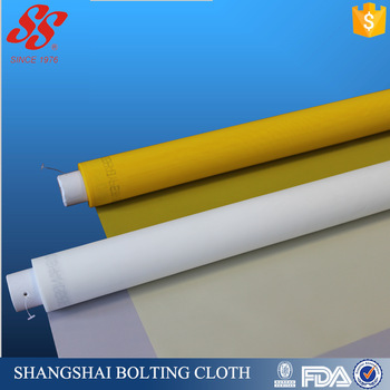 high tension 100% polyester silk screen mesh, bolting cloth for printing