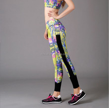 Newest hot sale design slim women clothes sports wear yoga pants