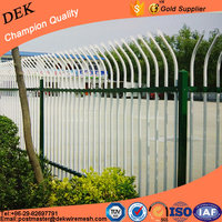 Decorative fixed security iron design fence grills