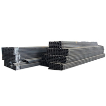 oiled surface steel rectangular section price structure tubes