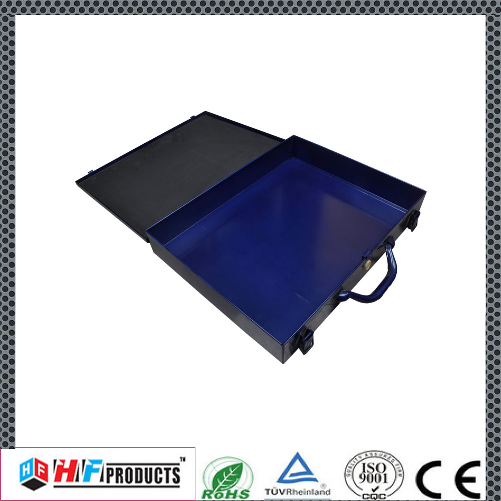 Lowest factory price small metal empty tools box