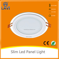 Project lights wholesale led 18w ceiling downlighting Glass style best price with ce rohs certificate