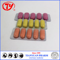 gastrointestinal deworming drug Oxibendazole tablets with GMP