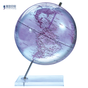 New style plastic mini maps and globes