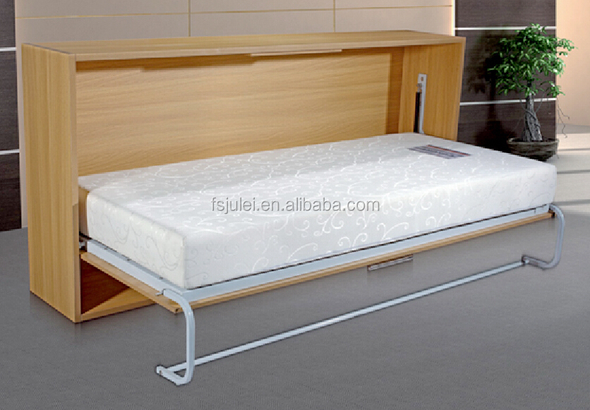 New product modern transformable bedroom space saving furniture folding bed murphy hidden wall bed JL-WD01