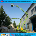 Mobile Hydraulic Folding towable articulating boom lifts
