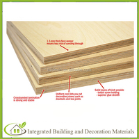 high quality natural birch wood veneer commercial plywood board