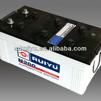 Lead Acid Dry Charged Used Car Battery for Sale N180 12V180AH