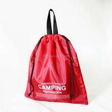 waterproof nylon cheap wholesale customized promotional drawstring bags, backpacks