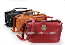 2013 Newest Stylish Fashion Women Leather Bags/doctor handbag