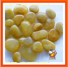River Stone Yellow Cobble Pebble