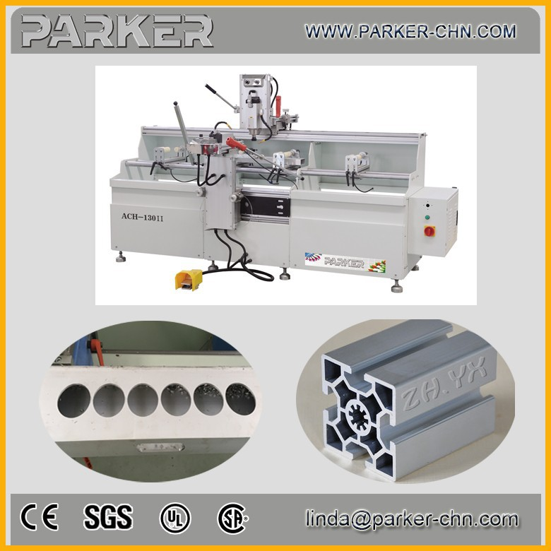 aluminium copy shaping machine / window frame making machine / milling and drilling lock holes