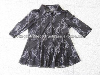 Korean Used Clothing, Ladies' Silky Blouses for Africa