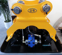 Hydraulic plate compactor for PC 200 Excavator
