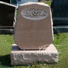 Low price supply granite tombstone