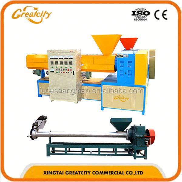 LDPE HDPE PP film granulating machine line/PE PP film pelletizing machine line/Waste plastic granule making machine