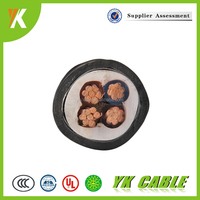 Heat resistant insulation standard power sizes 4x10mm armoured cable