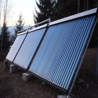 Solar collector panel