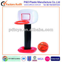 Customized inflatable basketball stand frame for kids sport toy