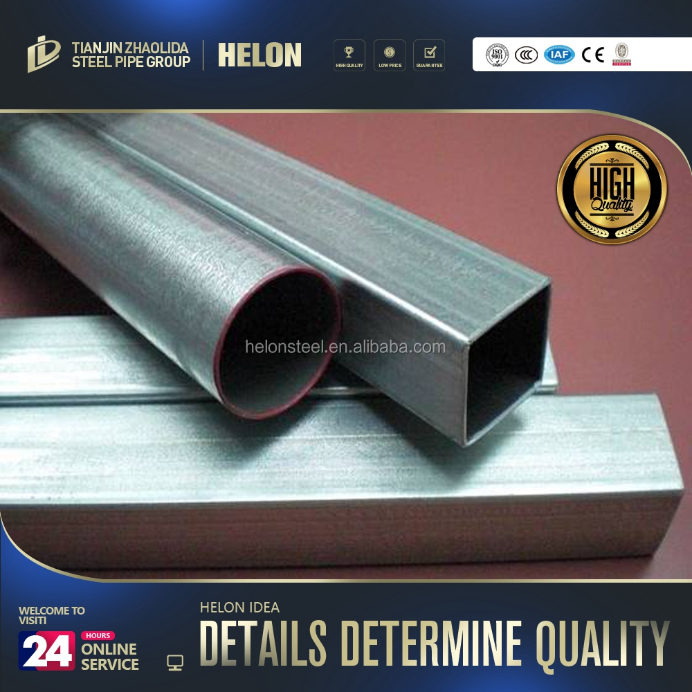 building materials 100x100 galvanized steel square pipes drilling for groundwater