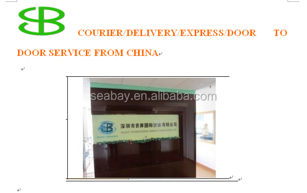 express/delivery/courier/mail service from china