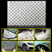 Lanbo new product vibration auto parts sound proof deadening,Sound Insulation/Sound Absorb/Acoustic Foam White Cotton