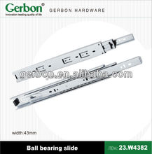 Heavy duty ball bearing slide