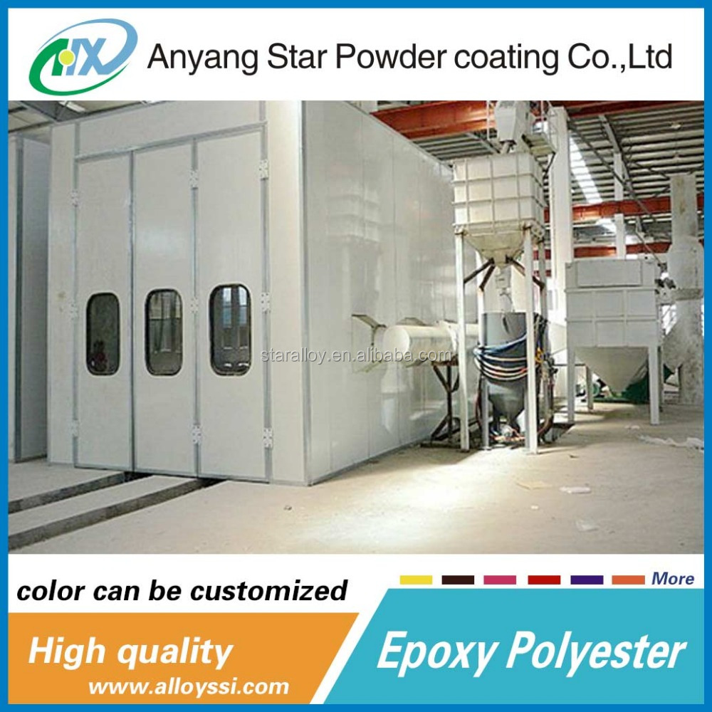 Best Products Anyang Star Supplierral mini epoxy polyester polyethylene waste powder coatings