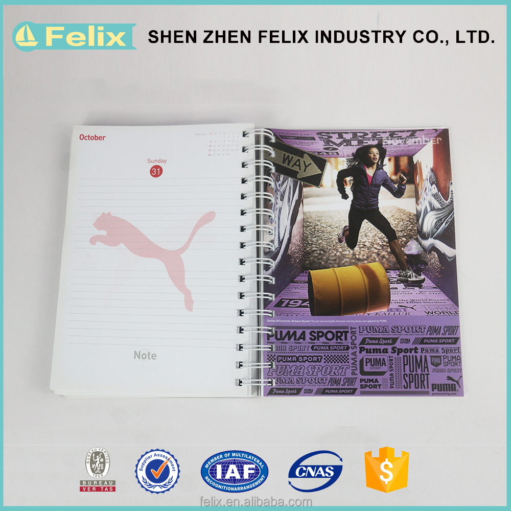 Wholesale Goods From China Spiral Notebooks With Plastic Cover