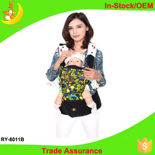 Rooyababy New design Fashionable leather baby carrier