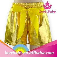 Gold Boutique wholesale Cool design sequin sexy girls boy shorts