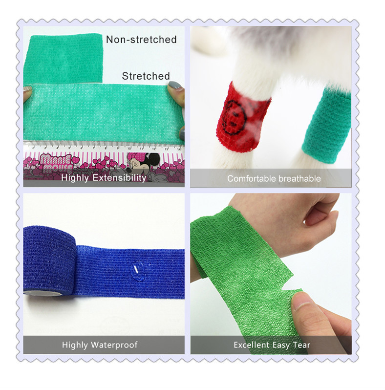High Quality Conhesive Elastic Bandage