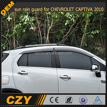 sun rain guard for CHEVROLET CAPTIVA 2010