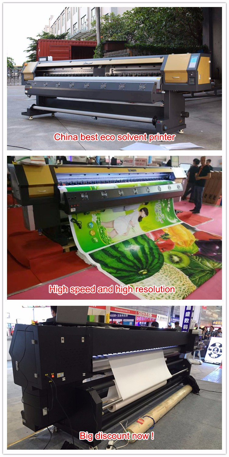 3.2m dx5 head 1440dpi stretch ceiling film printer